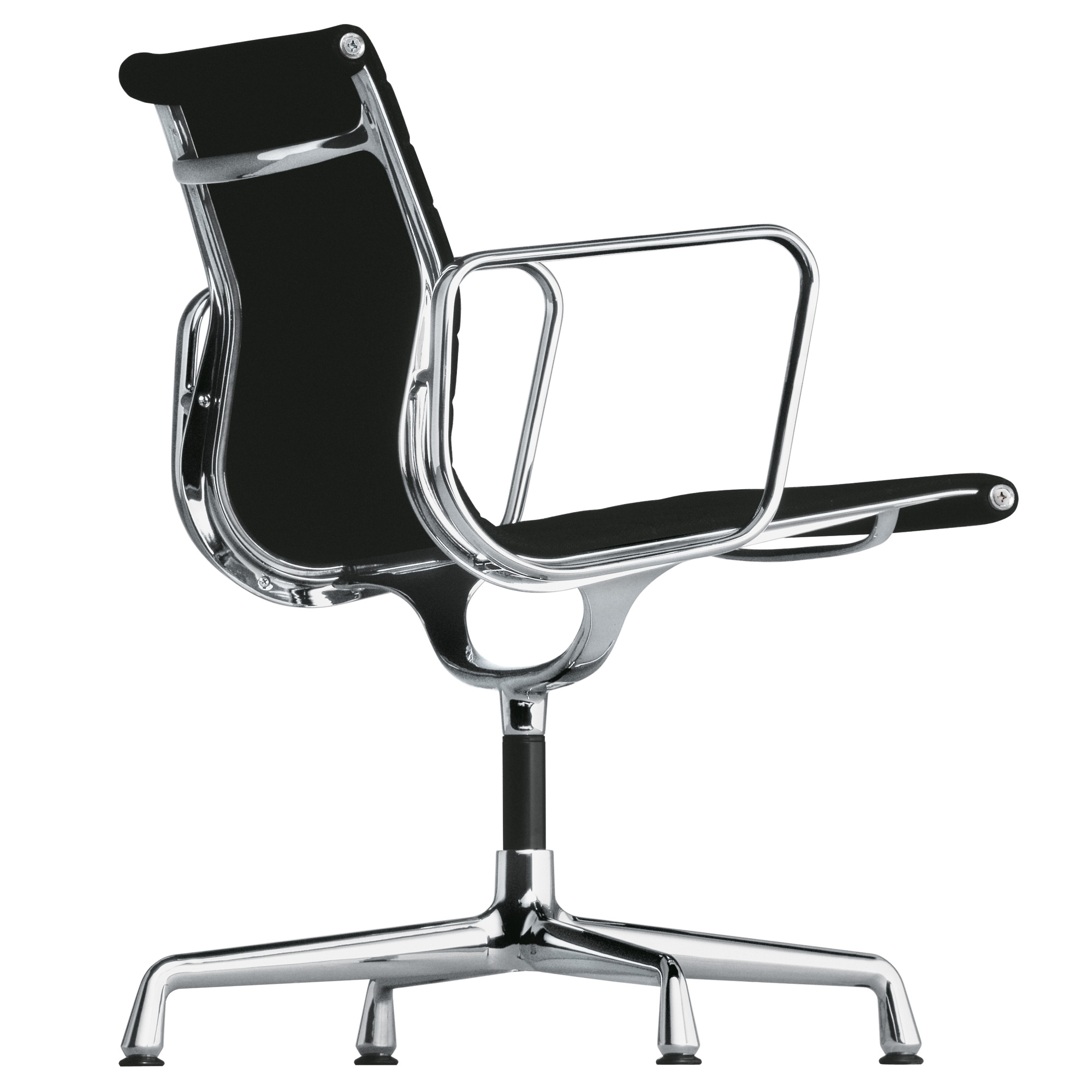 White eames chair vitra lounge chair ottoman von charles for Eames sessel replica